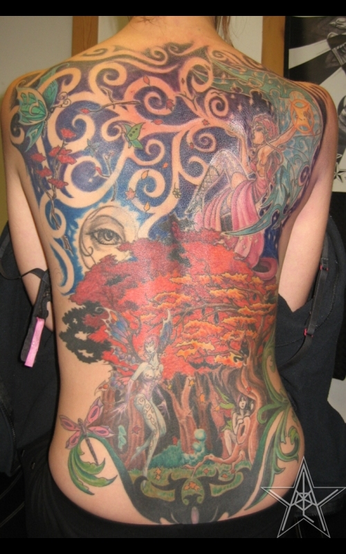 Fairy Back Piece
