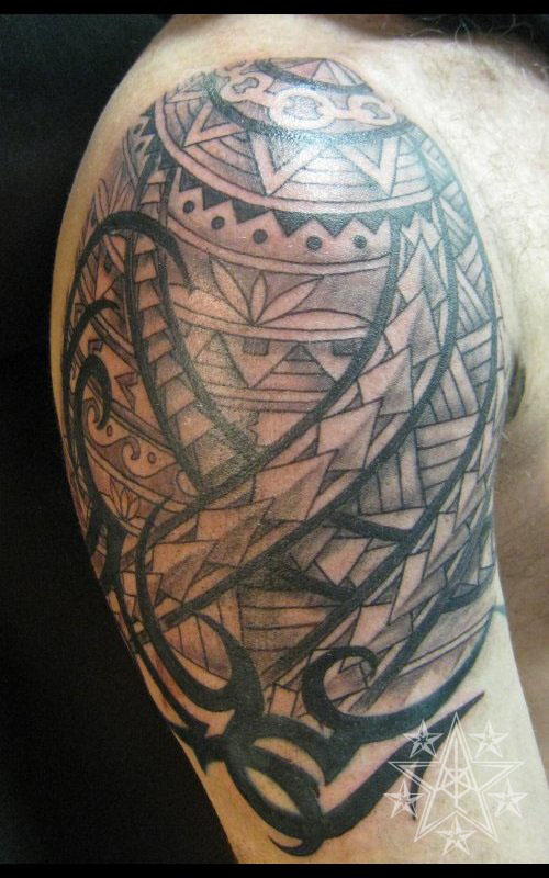 Polynesian Shoulder