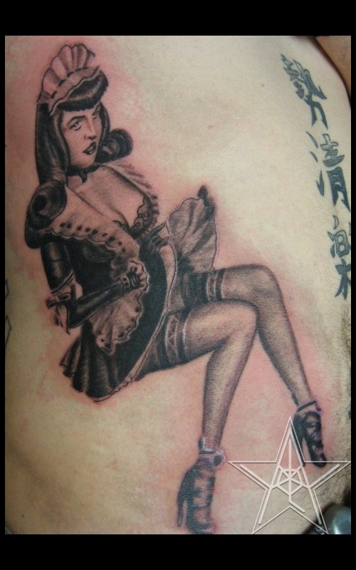 Betty Page Maid
