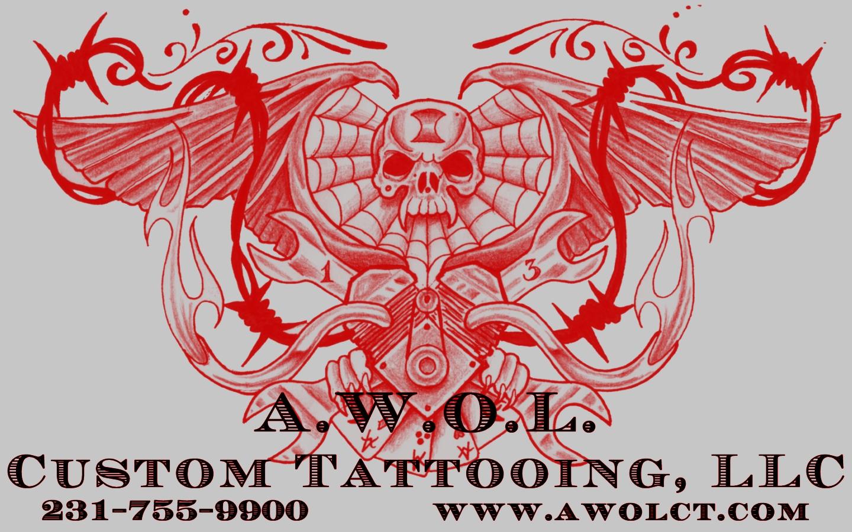 media a w o l  custom tattooing  llc located in muskegon  michigan  usa